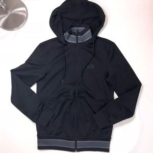 Armani Exchange Black Hoodie Jacket XS